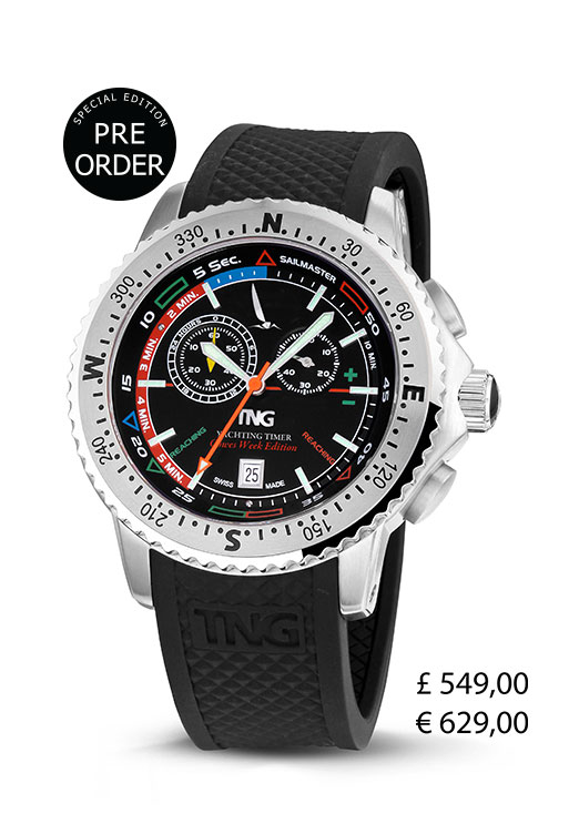 TNG Sailmaster Official Cowes Week Limited Edition CW10121B