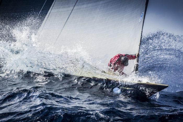FRANCE, St Tropez. Voiles de St Tropez. J Class, Race 1, Coastal Race.